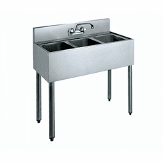 "Krowne Metal 36"" Convenience Store Sink, Model# CS-1836"