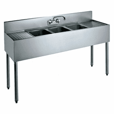 "Krowne Metal 60"" Convenience Store Sink, Model# CS-1860"