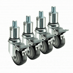 Krowne Metal Adjustable Casters