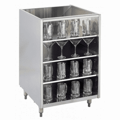 Krowne Metal Backbar Storage
