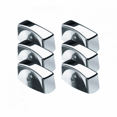 Krowne Metal Chrome Oven Knob, 6-Pack, Model# 25-200