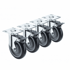 Krowne Metal Heavy Duty Casters