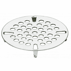 "Krowne Metal Replacement Face Strainer For 3-1/2"" Waste Drains, Model# 22-616"