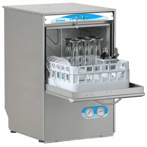 Lamber High Temp Undercounter Glasswasher With Gravity Drain, Model# S480EKS