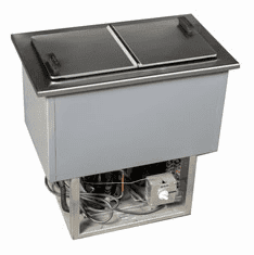 Larosa Drop-In Ice Cream-Plate Chiller