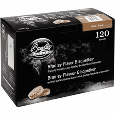 Maple Bisquettes120 Pack, Model# BTMP120