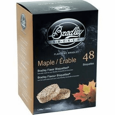 Maple Bisquettes48 Pack, Model# BTMP48