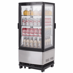Maxx Cold 3 Cu Ft Countertop Two Door Refrigerated Merchandiser, Model# MECR-32D