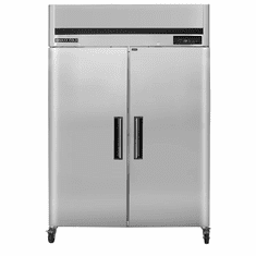 Maxx Cold 42.8 Cu Ft Two Door Reach In Refrigerator Top Mount, Model# MCRT-49FDHC