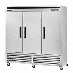Maxx Cold 66.7 Cu Ft Three Door Reach In Refrigerator Bottom Mount, Model# MCR-72FDHC