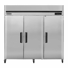 Maxx Cold 66.7 Cu Ft Three Door Reach In Refrigerator Top Mount, Model# MCRT-72FDHC