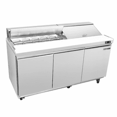 Maxx Cold Select Series 17.83 Cu Ft Two Door Sandwhich/Salad Prep Table, Model# MXSR60SHC