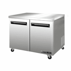 Maxx Cold Undercounter 12.2 Cu Ft Two Door Refrigerator, Model# MCR48UHC