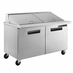 Maxx Cold X-Series 15.5 Cu Ft Megatop Refrigerated Prep Table, Model# MXCR60MHC
