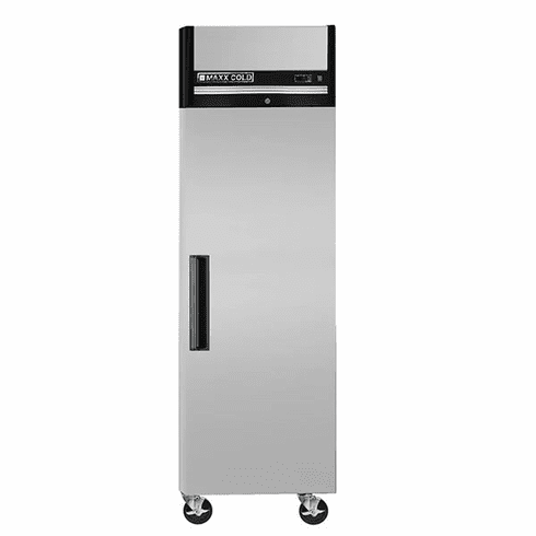 Maxx Cold X-Series 23 Cu Ft Reach In Refrigerator Single Door Top Mount, Model# MXCR-23FDHC