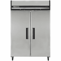 Maxx Cold X-Series 49 Cu Ft Reach In Refrigerator Two Door Top Mount, Model# MXCR-49FDHC