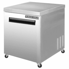 Maxx Cold X-Series 6.5 Cu Ft Undercounter Single Door Refrigerator, Model# MXCR27UHC