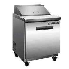 Maxx Cold X-Series 7 Cu Ft Megatop Refrigerated Prep Table, Model# MXCR29MHC