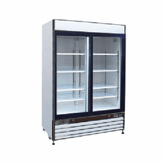 Maxx Cold X Series Refrigerator Merchandiser48 Cubic FeetReach-In Two Sliding Door, Model# MXM2-48RS