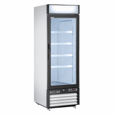 Maxx Cold X Series Upright Freezer Merchandiser Reach-In Glass Door Freezer, Model# MXM1-23F