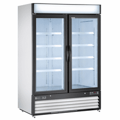 Maxx Cold X Seriesfreezer MerchReach In Two Door, Model# MXM2-48F