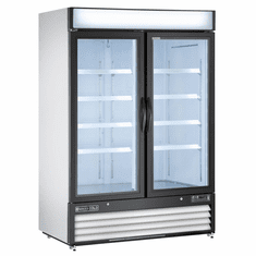 Maxx Cold X Series Merch Reach In Two Door Refrigerator, Model# MXM2-48RHC
