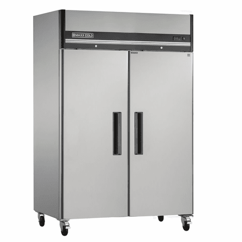 Maxx Cold X Seriesrefrigerator Reach In Two Door, Model# MXCR-49FDHC
