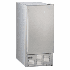 Maxx Ice 65 Lb Outdoor Stainless Steel Self Contained Ice Machine Full Cube, Model# MIM50-O