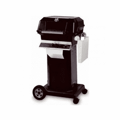 Mhp Gas Grill On Blk Console Cart, Model# JNR4DD-NS-OCOLB-OMN