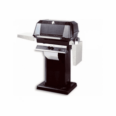 Mhp Gas Grill On Blk Console Wbase, Model# WNK4DD-N-OCOLB-OPN