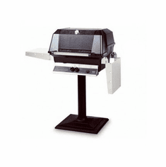 Mhp Gas Grill On Patio Stand Ss Grid Usa, Model# WNK4DD-N-MPB