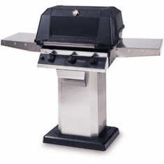 Mhp Hybrid Natural Gas GrillStainless Steel Console, Model# WHRGR44-NS-OCOL-OMN