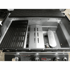Mhp Negas Grill Patio Base 3 Cast Ss Burner, Model# W3G4DD-N-MPB