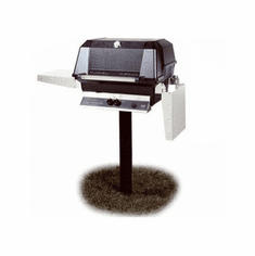 Mhp Propane Gas Grill On In-Grnd Post 40000Btu, Model# WNK4DD-P-MPP