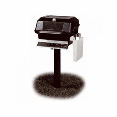 Mhp Propane Gas Grill On In-Ground Post Ss Grid 30000 Btu, Model# JNR4DD-P-MPP