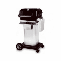Mhp Propane Gas Grill On Ss Console Cart, Model# JNR4DD-P-OCOL-OMP