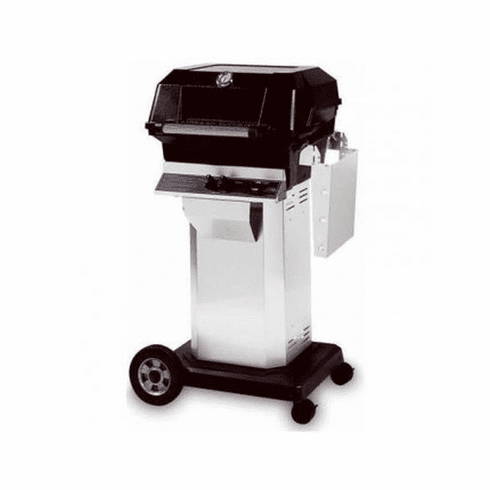 Mhp Propane Gas Grill On Ss Console Cart, Model# JNR4DD-PS-OCOL-OMP