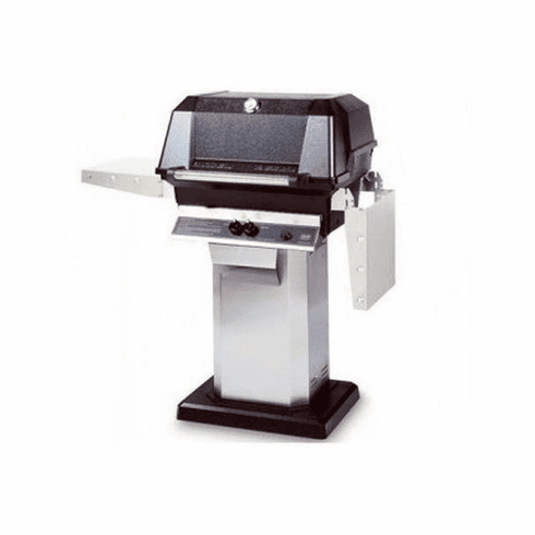 Mhp Propane Gas Grill On Ss Console Cart, Model# WNK4DD-P-OCOL-OPP
