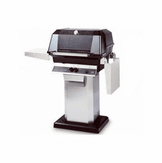 Mhp Propane Gas Grill On Ss Console Cart, Model# WNK4DD-PS-OCOL-OPP