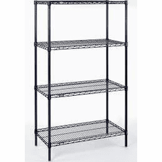 Nexel 21 Depth Wire Shelving Units