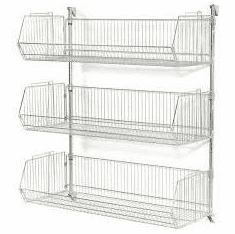 Nexel Basket Shelving Units