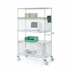 Nexel Security Enclosed Wire Shelving