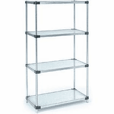 "Nexel Solid Shelving 72"" By 18"""