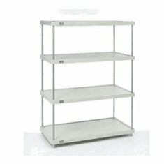 Nexel Solid Shelving Units