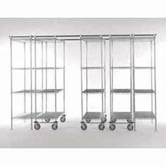 Nexel Space Trac Shelving Systems