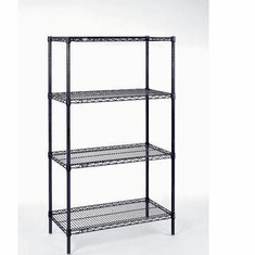 "Nexel Wire Shelving 36"" By 18"""