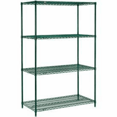 "Nexel Wire Shelving 42"" By 18"""