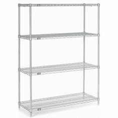 "Nexel Wire Shelving 48"" By 18"""