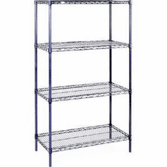 "Nexel Wire Shelving 54"" By 18"""