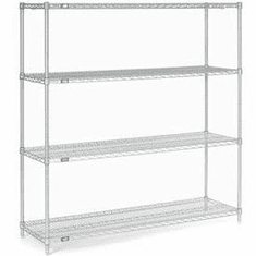 "Nexel Wire Shelving 60"" By 18"""
